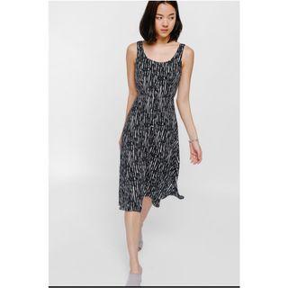 🚚 Love Bonito Noretta Printed Button Midi Dress