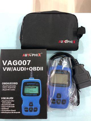 Autophix vag007Car Diagnostic Scanner for VW/SEAT/Audi/Skoda car readers diagnosis codes OBD II EOBD diagnostic systems of vehicles