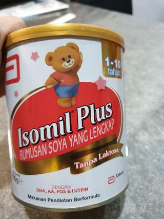 Isomil Plus Soymilk for Age 1 to 10