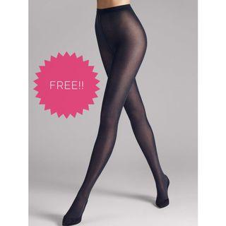 FREE!! BN Dark Blue Navy Pantyhose Stockings ; #CarousellFaster #CarousellBetter