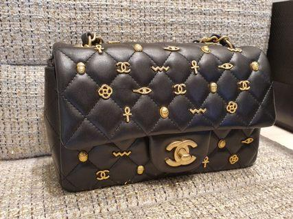 Chanel 19A Mini Rectangular Flap