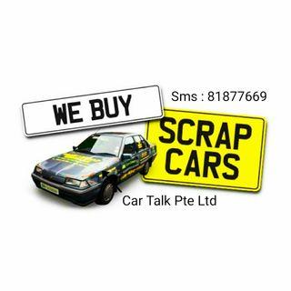 Scrap or Trade in your car with extra $$$.