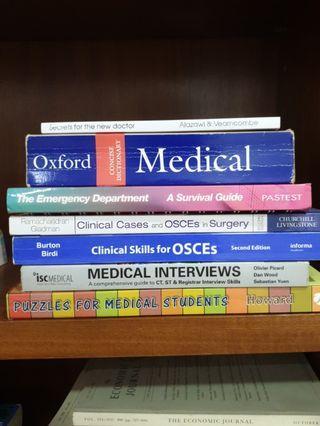 Medical studies books
