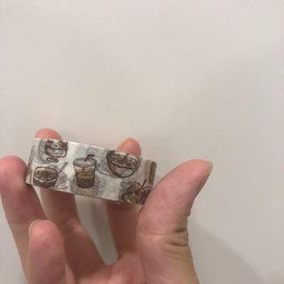 台灣小吃 可愛文創紙膠帶