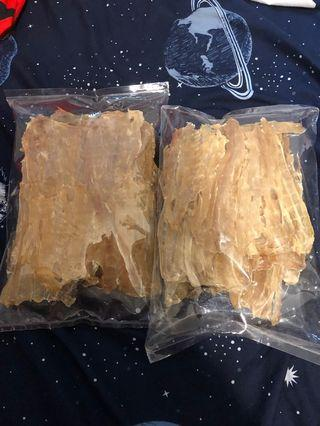 泰國直送 鱷魚肉乾 200克