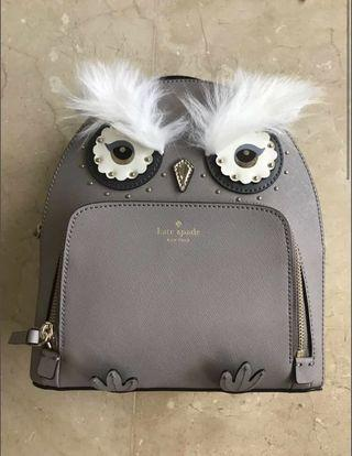 Kate spade owl Tomi backpack