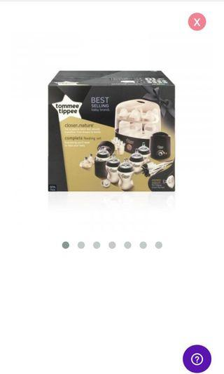 🚚 (New in Box) Closer to Nature Complete Feeding Set (Black)