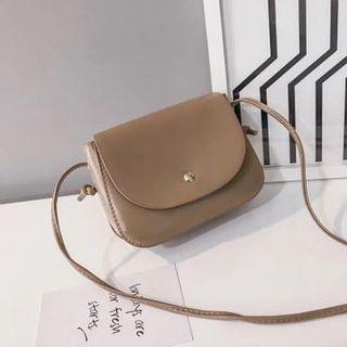 Small Khaki Leather Bag