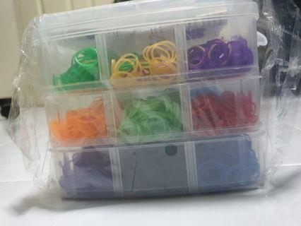 Mini rubber bands for craft