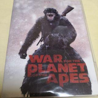 English dvd movie War planet of the Apes