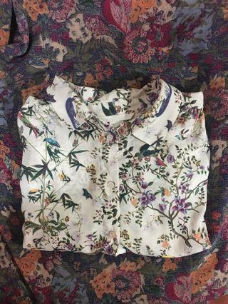 H&M Floral Blouse #GayaRaya