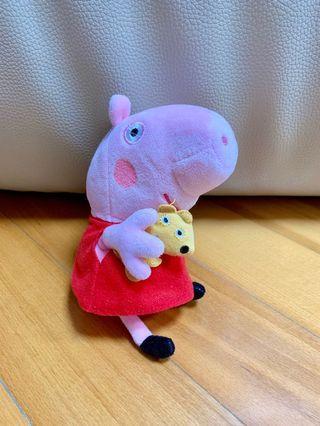 Peppa Pig毛公仔