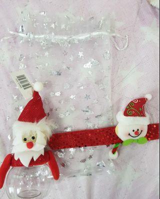 🚚 Christmas LED Bottle and Wristband