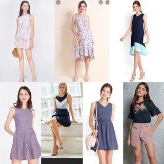"""""""Nothing above $20"""" blogshop dresses"""
