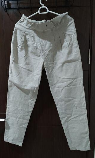 Celana linen rami