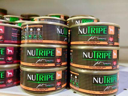 Selling Cheap! Minimum purchase 24cans NUTRIPE FIT Dog Canned Food 95grams