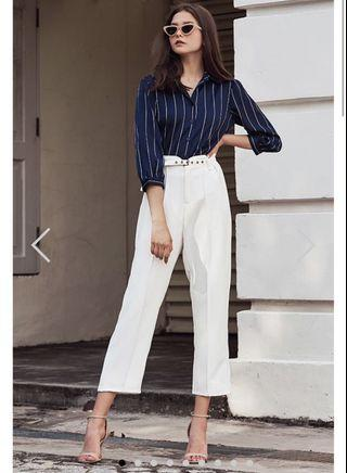 TCL reisan pants in white (size S)