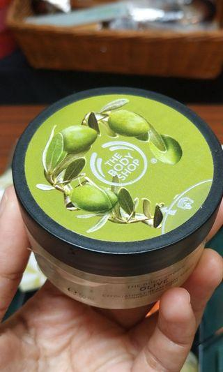 The Body Shop Scrub Olive