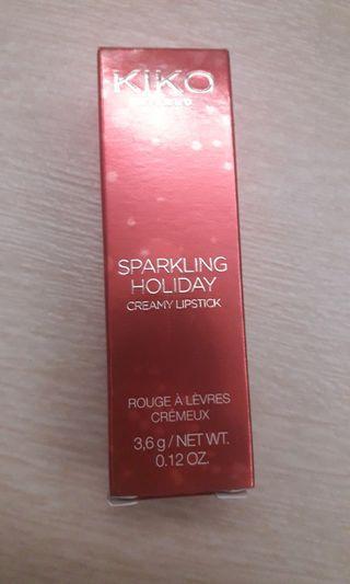 【包郵】Kiko Sparking Holiday Creamy Lipstick