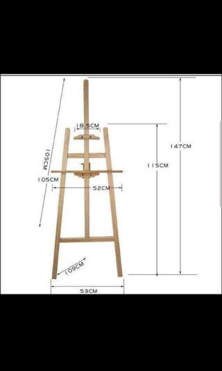 Easel Stand with or without welcome signage