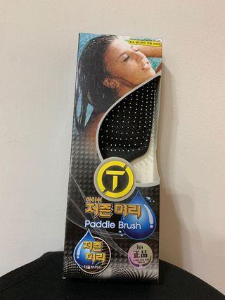 韓國 Tion 負離子護髮專用梳-乾濕兩用