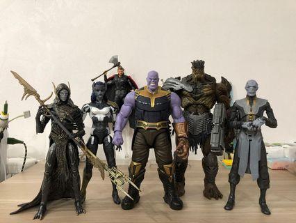 🚚 Marvel Legends Black Order