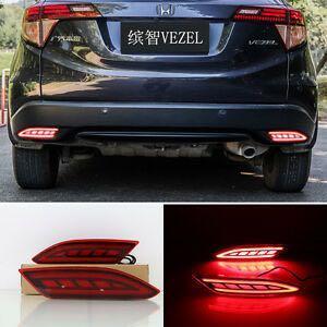 Vezel/HRV rear bumper reflector LED lights