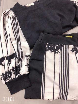 台灣自有品牌Miss lamo黑貓套裝