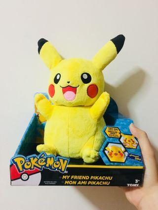 Talking Pikachu Pokemon Soft Toy