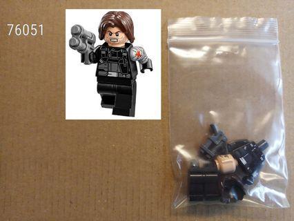 全新未砌 Lego 76051 Marvel Super Heroes Avengers - Winter Soldier人仔 1隻