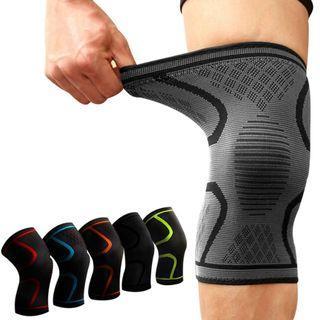 Aolikes 1PCS Fitness Running Cycling Knee Support Braces Elastic Nylon Sport