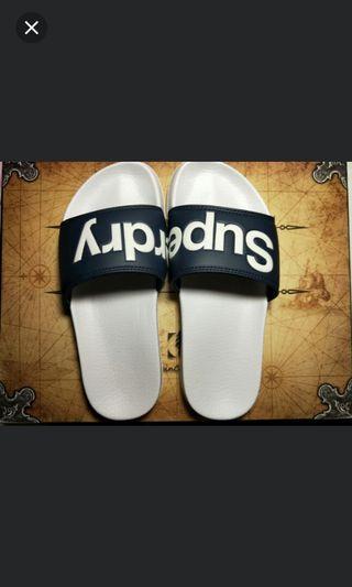 🚚 Superdry拖鞋(約24.5~25