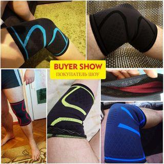 1pc Nylon Elastic Sports Knee Pads Breathable Support Brace Running Fitness SKDK