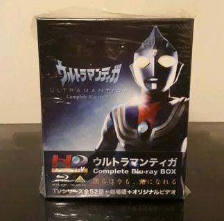二手 日版Ultraman Tiga 超人迪加藍光Blu Ray Box