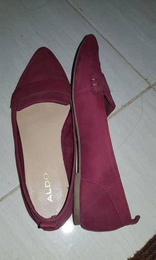 [PRELOVED] ALDO FLAT RED SHOES
