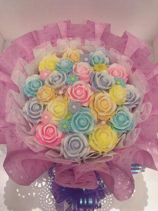 Jelly cake Flower Bouquet