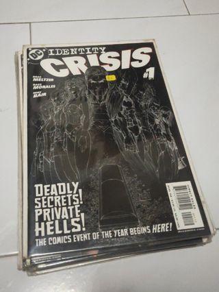 DC Comics Identity Crisis (Complete)