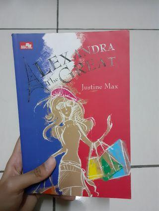 Novel Alexandra The Great