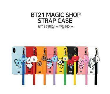 (Pre-Order) BT21 Magic Shop Strap Case