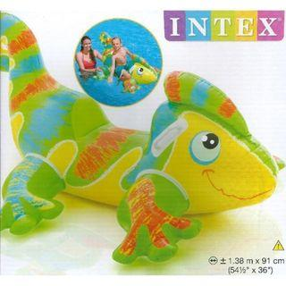 🚚 (Free Delivery) Intex Smiling Gecko Animal Ride on Inflatable Swimming Float