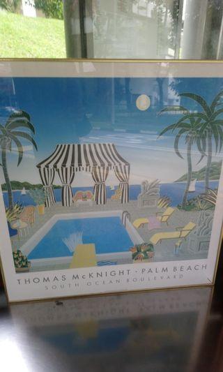Resort style Painting, thomas mcknight
