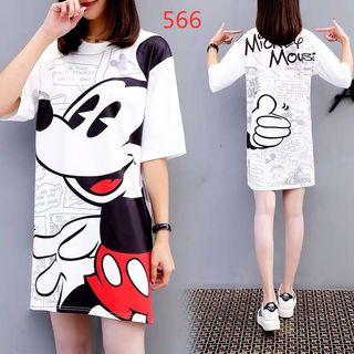 Mickey Mouse t shirt Dress