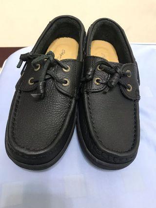黑色復古皮鞋 男女適用款 9成新