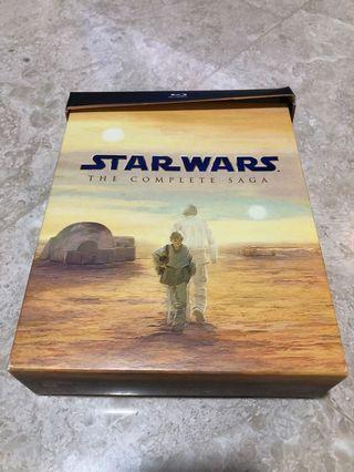 Star Wars: The Complete Saga Blu-Ray Box Set