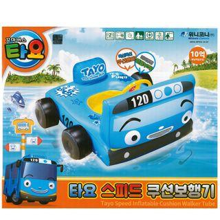 🚚 (Free Delivery) Korea Tayo the Little Bus Inflatable Baby Float Swimming Ring Seat with Steering Wheel
