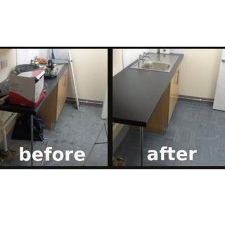 Pre moving cleaning - Chemical wash for kitchen floor singapore acid toliet