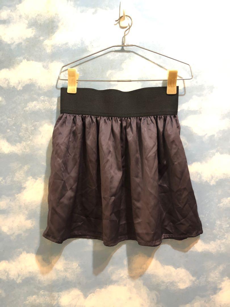 🔥特價出清🔥亮面紫色短裙