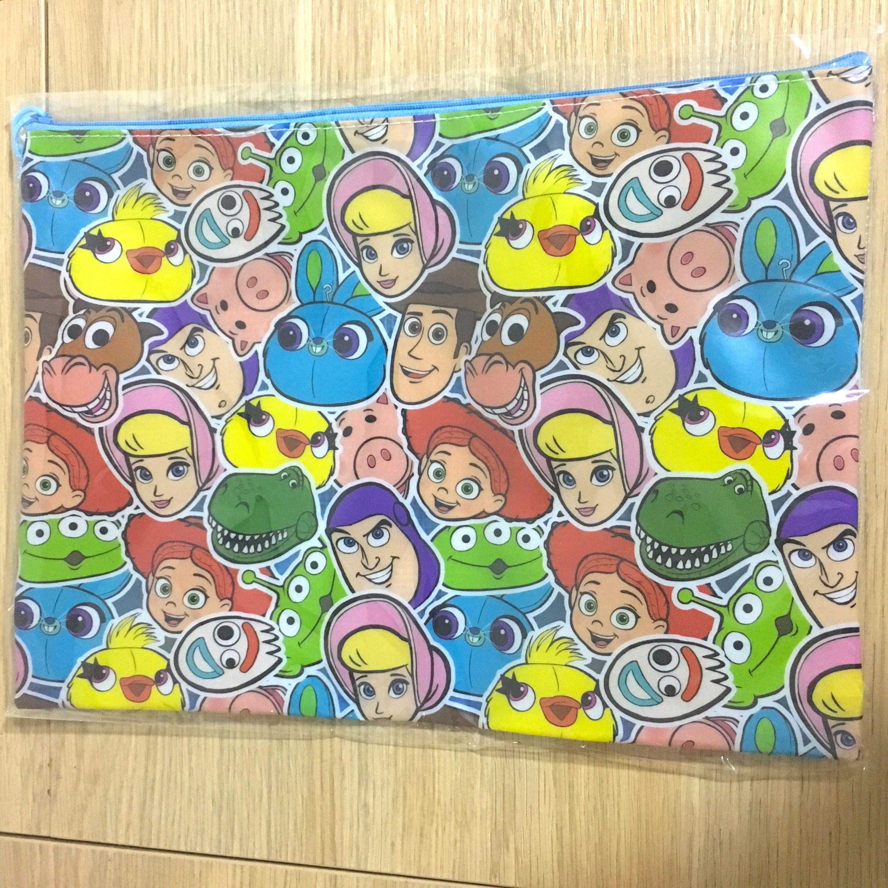 🌟 Toy Story 4 反斗奇兵4 功課袋 文件袋