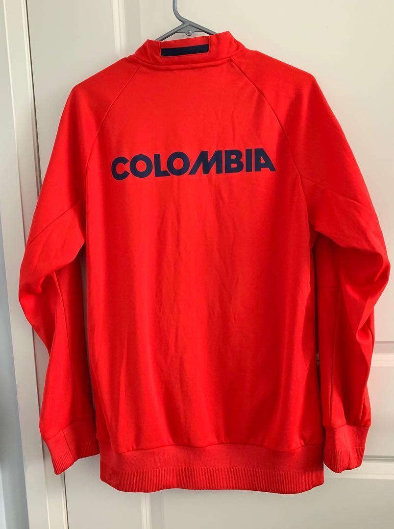 Adidas FCF Colombia Soccer Track Jacket Sweater