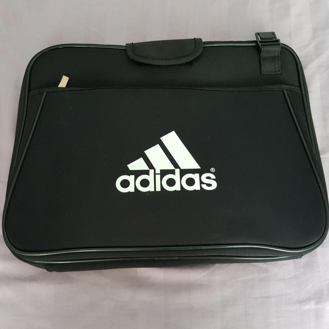finest selection 168ed 18acb Adidas Laptop Sleeve Case - Black